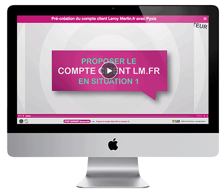 Photo IMAC Console de formation E-learning par AV PROD